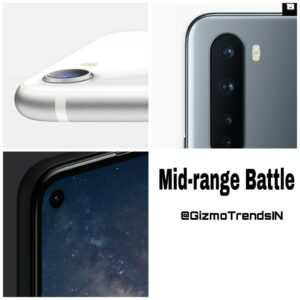 Google Pixel 4a vs OnePlus Nord vs iPhone SE -Midrange Battle